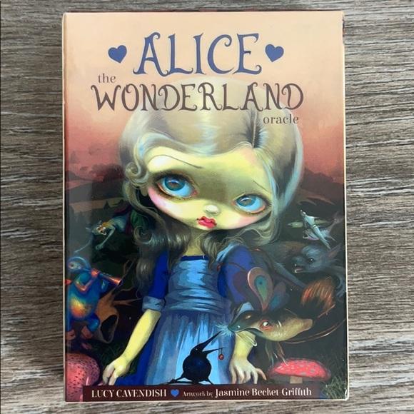 Alice in Wonderland Oracle Card Deck